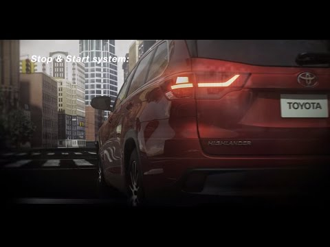 The New 2017 Highlander Stop And Start Engine System | Andrew Toyota