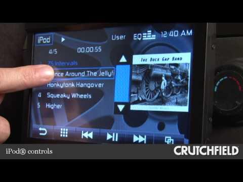 Jensen VM9115 DVD Receiver Display And Controls Demo | Crutchfield Video