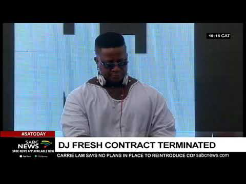 SABC terminates DJ Fresh's contract