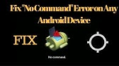 how to fix Android Problem (E