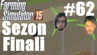 Farming Simulator 15 Türkçe Multiplayer | Sezon Finali | Bölüm 62