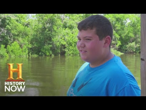 Chris Brunet is Fighting Rising Sea Levels in Louisiana | History NOW