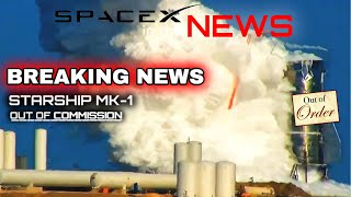 SpaceX Starship MK1 Tank Explodes On Test Stand! | SpaceX in the News
