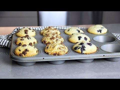 EASY MUFFIN RECIPE | Muffin Base Recipe