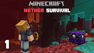 Minecraft: Insane New Challenge - 1.16 Nether Survival Let's play | Ep 1