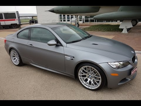 2011 bmw m3 frozen gray ultra rare special edition - youtube