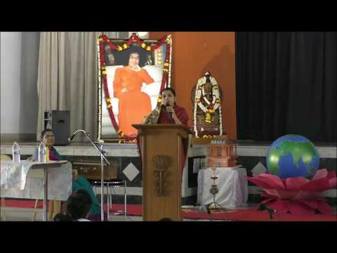 Music for World Peace - Talk by Smt. Sinduja Karthik at Brindavan