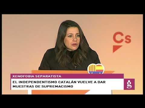 Las muestras de xenofobia independentista en Cataluña