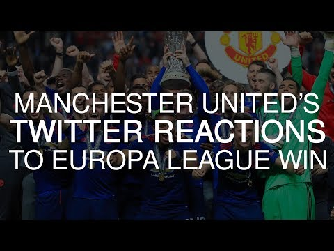Manchester United Players Tweet Their Joy After Europa League Glory