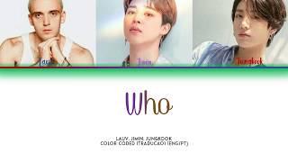 Lauv  - Who (ft.BTS) (Tradução PT/BR) [Color Coded PT|ENG]