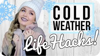 Life Hacks for Cold Weather!