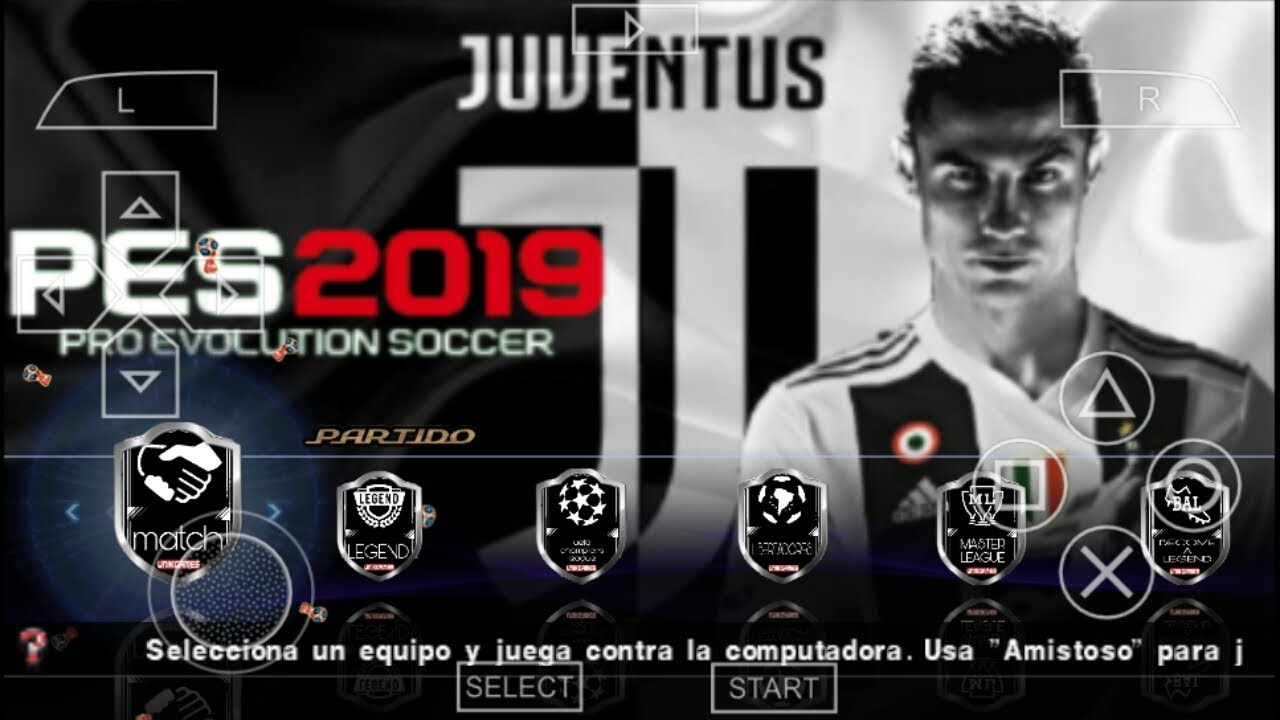 PES 2019 LITE 500MB PPSSPP WITH PS4 CAMERA