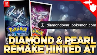 New Pokemon Website might mean Pokemon Diamond and Pearl Remakes coming 2021