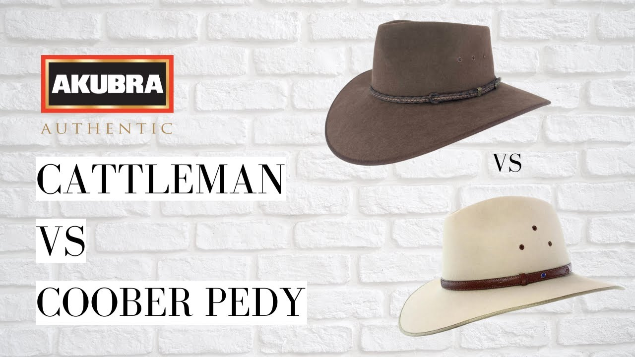bf1704f7 Akubra Coober Pedy Vs Cattleman - Hats By The 100 - YouTube