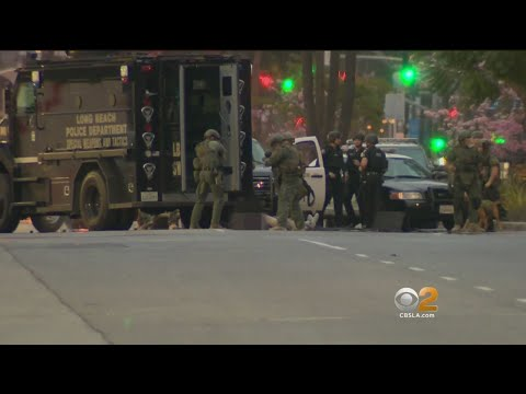 Suspect Dies After Standoff Near Long Beach City Hall
