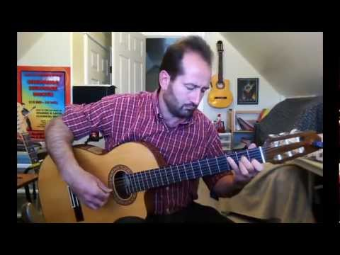 Maple Leaf Rag by Scott Joplin (FREE Guitar Tab) by John McCoy (Skype Guitar Lessons)