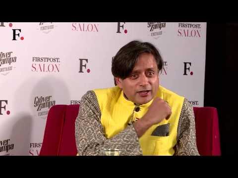 F. Salon w Shashi Tharoor || Rips Apart Modi Sarkar's Foreign Policy Toward Pakistan