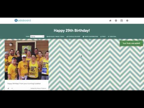 Group Card, Group eCard | Employee Appreciation | Kudoboard Demo (2018)