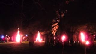 Wassailing The Cider Orchards - Leominster Morris  - Nags Head Herefordshire