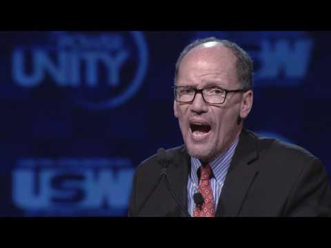 Tom Perez: 2017 USW Convention