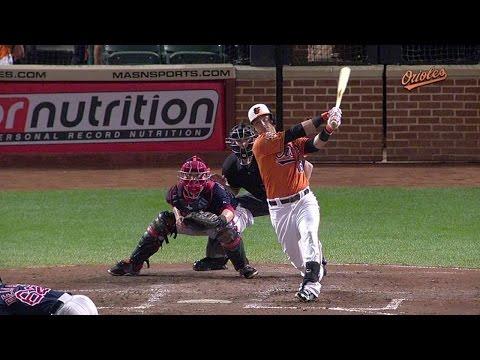 BOS@BAL: Walker drills his first career home run