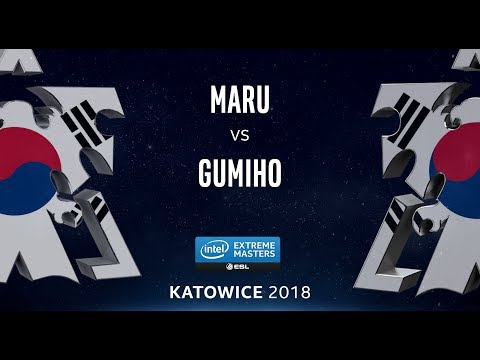StarCraft 2 - Maru vs. GuMiho (TvT) - IEM Katowice 2018 - NA Qualifier Qualifying Match (1/3)