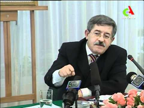 "ouyahia  president  ""of algeria "" اويحي الرئيس"