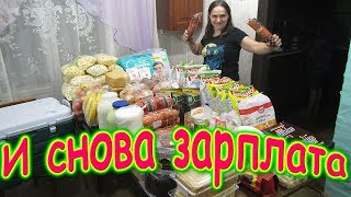 зарплата. Обзор покупок на месяц. (11.19г.) Семья Бровченко