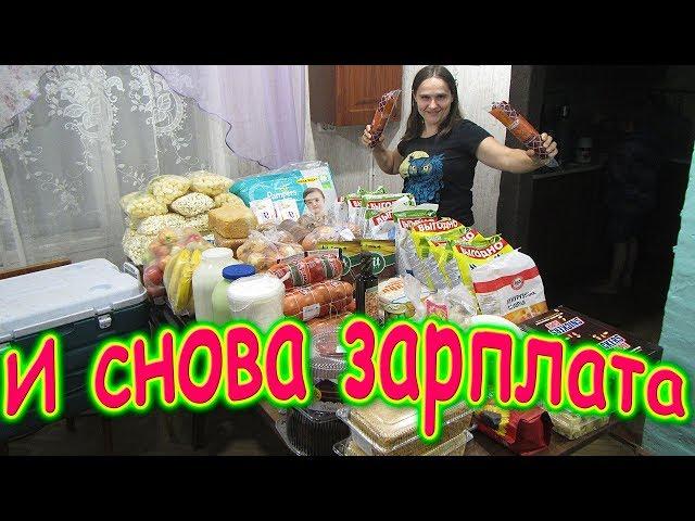 Зарплата. Обзор покупок на месяц. (11.19г.) Семья Бровченко.