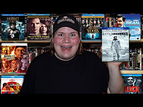 My Blu-ray Collection Update 3/21/15 : Blu ray and Dvd Movie Reviews