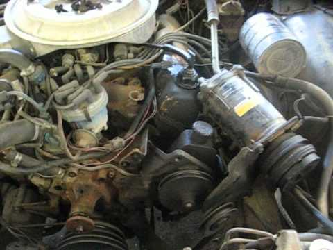 ford 302 firing order diagram grote turn signal switch wiring replacing the water pump in 1978 ltd - youtube