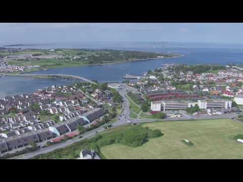 Tananger, Hafrsfjord, Stavanger - Flying Over Norway