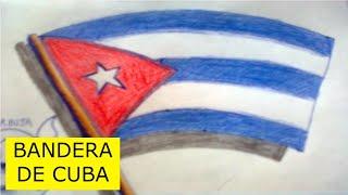 Como dibujar la bandera de cuba