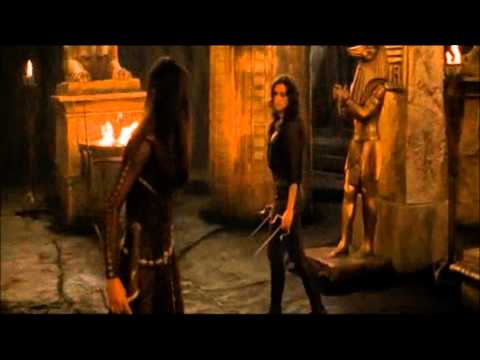 TMR: Nefertiri/Evy vs Anck Su Namun|| Fight Scene #2 (HD)