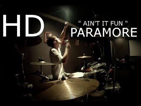 """PARAMORE - """"Ain't It Fun"""" Drum Cover (HD) Sean Tighe ..."""