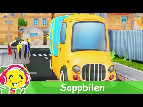 Soppbilen  Barnsnger p svenska – BarnmusikTV – Cantece pentru copii in limba suedeza