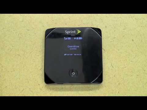 Sprint Overdrive 3G/4G Mobile Hotspot Review