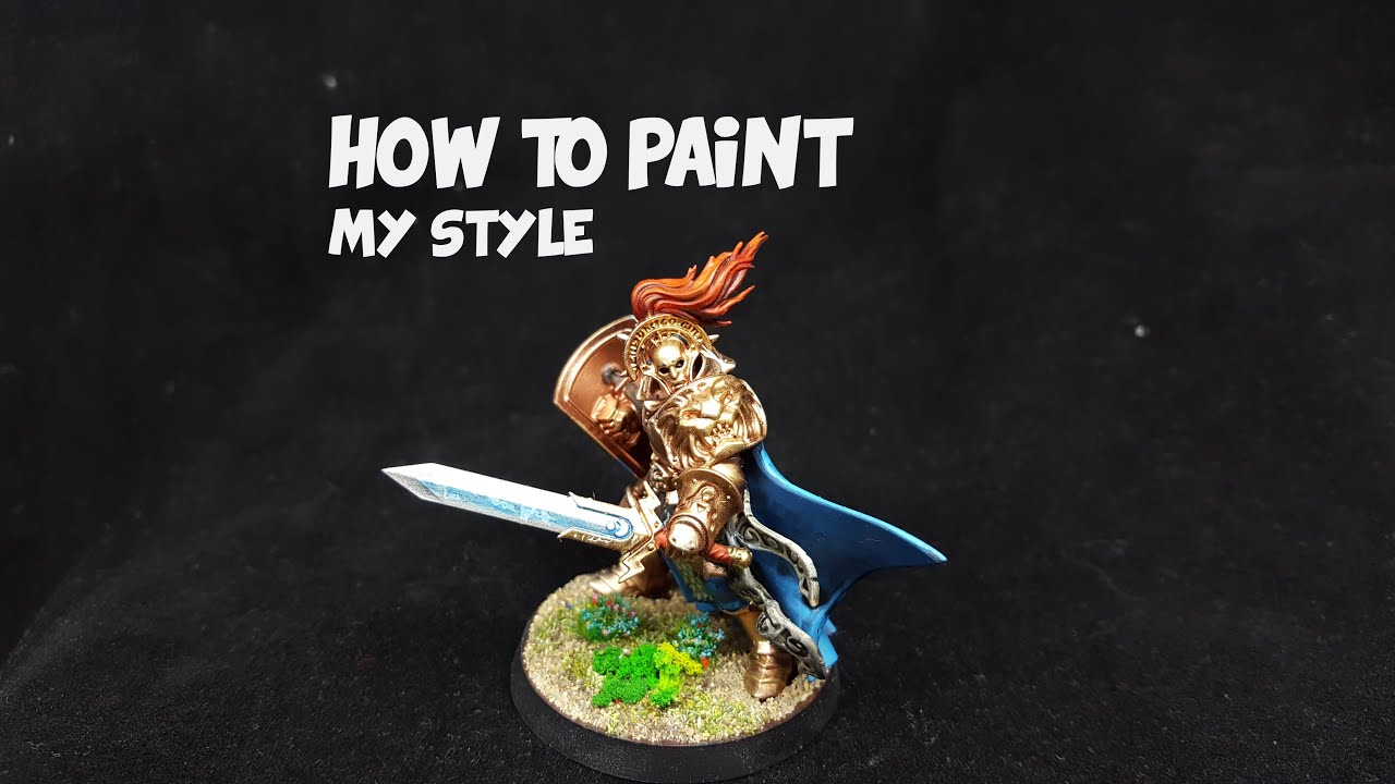 How to paint up knight questor from warhammer quest silver for How to make silver paint