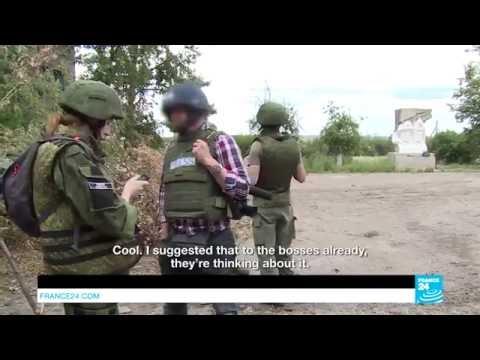 Франзузские журналисты засекли боевиков когда те пытались имитировать сюжет и обвинить ВСУ
