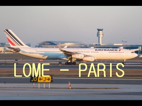 FSX Timelapse #5 | Lomé - Paris A340-300 Air France