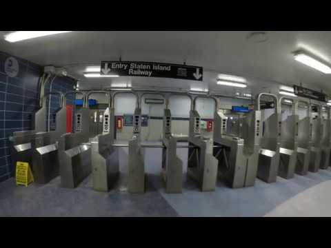 ⁴ᴷ Staten Island Railway: St. George to Tottenville Full Ride