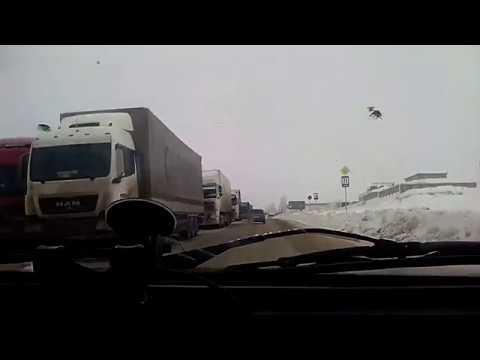 Жесть на трассе Р-228. Пробка 20км. Саратов-Камышин-Волгоград