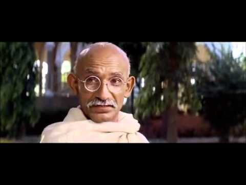 Gandhi on Hitler