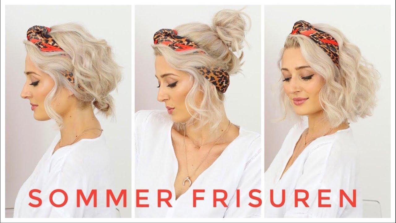 Sommer Frisuren Mit Einem Tuch Tragen Olesjaswelt