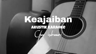 Ghea Indrawari - Keajaiban ( Akustik Karaoke )