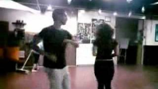 Salsa Dancing lesson-learning salsa steps at Israel