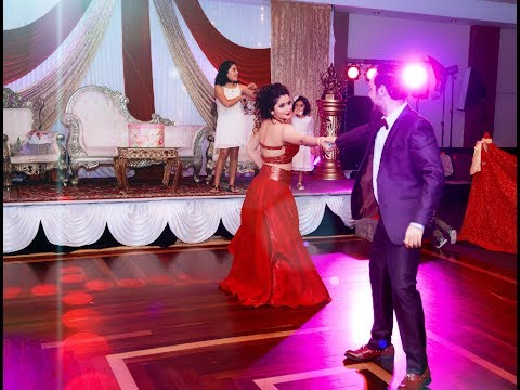 tere sanga yaara couple dance in anniversary party