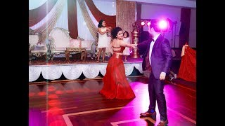 tere sanga yaara couple dance in anniversary party