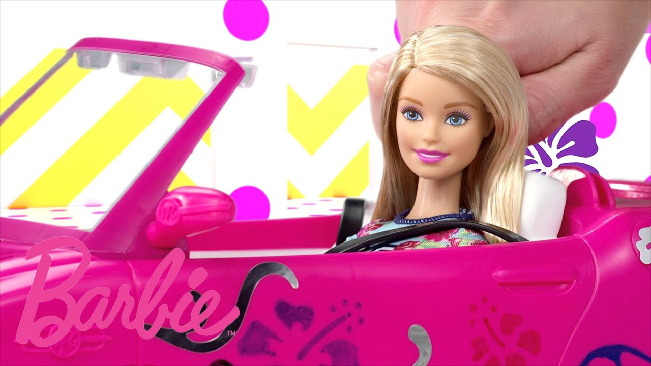 Barbie Carwash & Shops | Barbie - YouTube