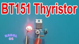 BT151 SCR Thyristor Ide Kreatif DIY